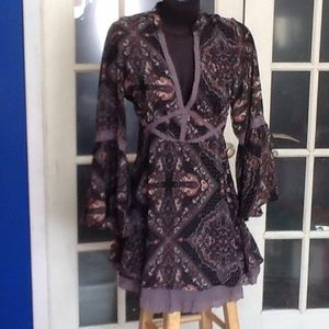 Free People print dress